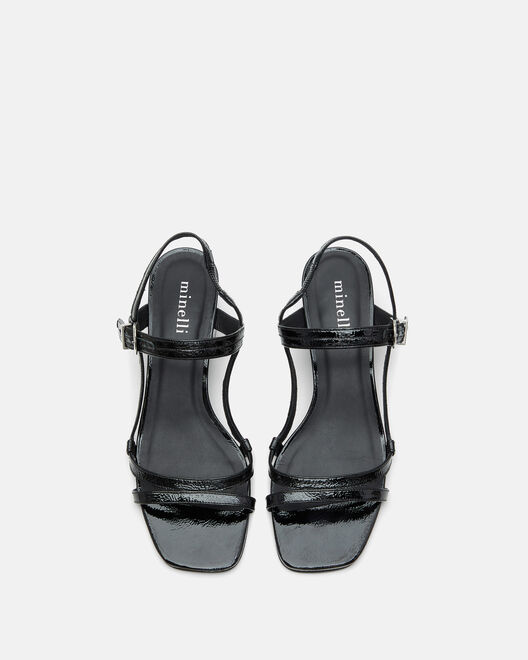 Sandale plate - Harmeline, NOIR