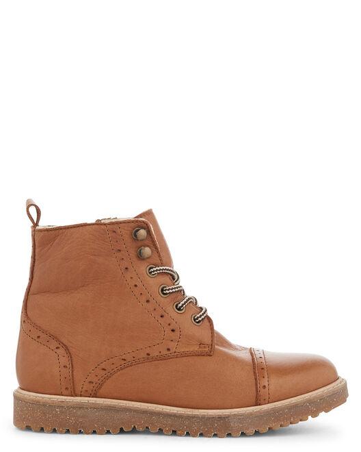 Boots - Amsterdam, COGNAC
