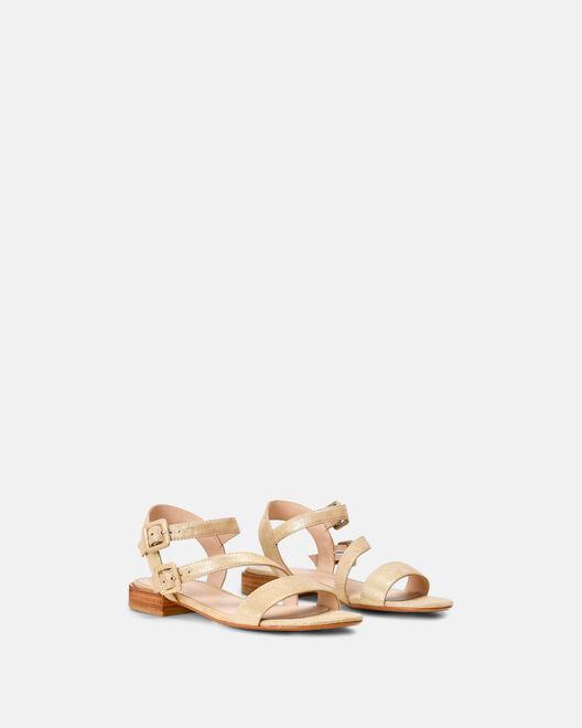 Sandale à talon - Myrla, PLATINE
