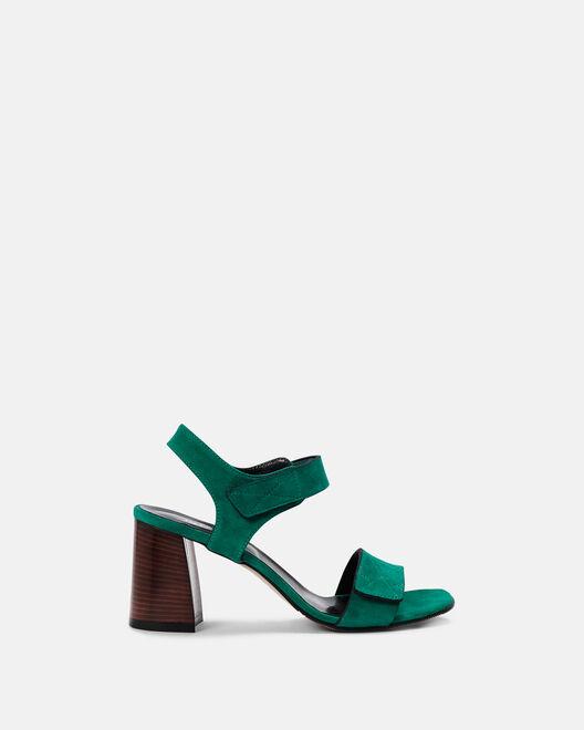 Sandale à talon - Chirrel, VERT