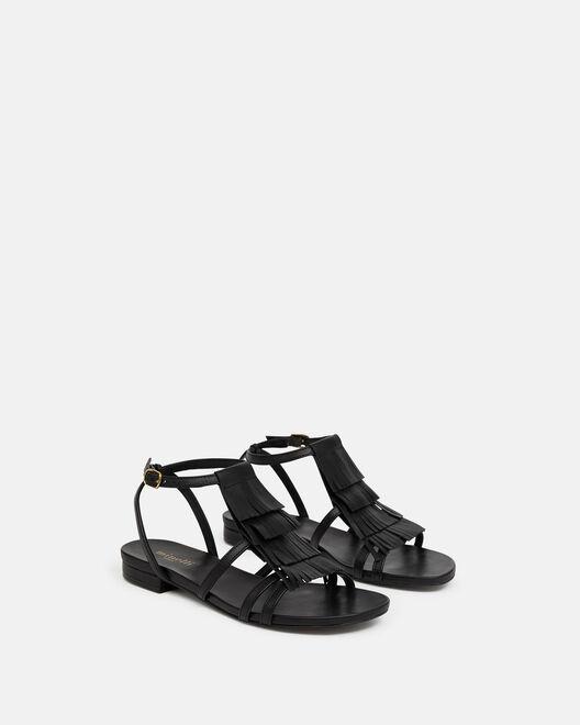 Sandale plate - Helia, NOIR