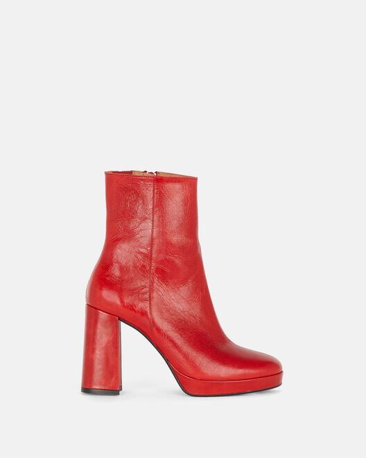 Boots - Tissia, ROUGE