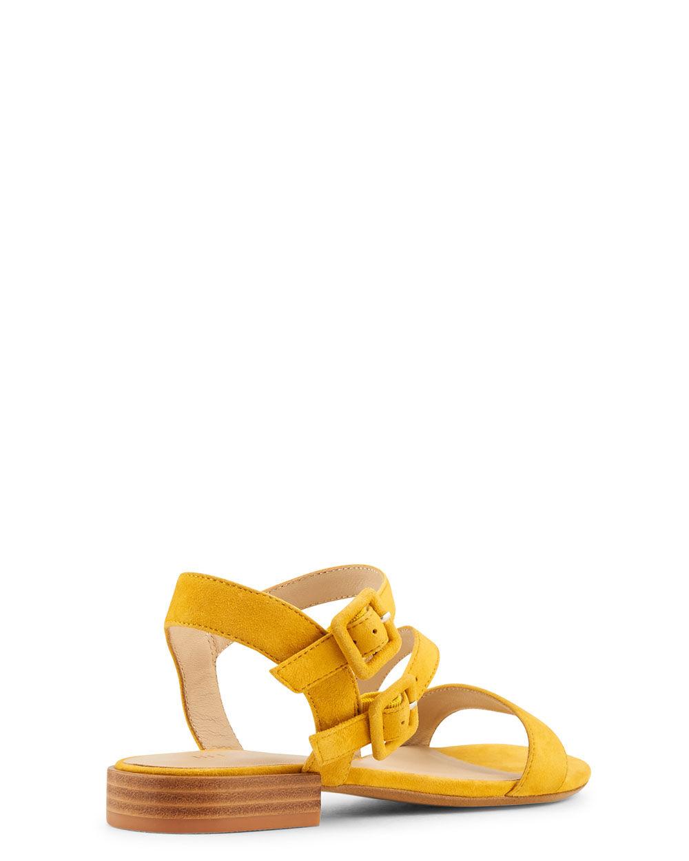 Chaussures Valeska Chevre Velours Sandale Plate kiuOPXZ