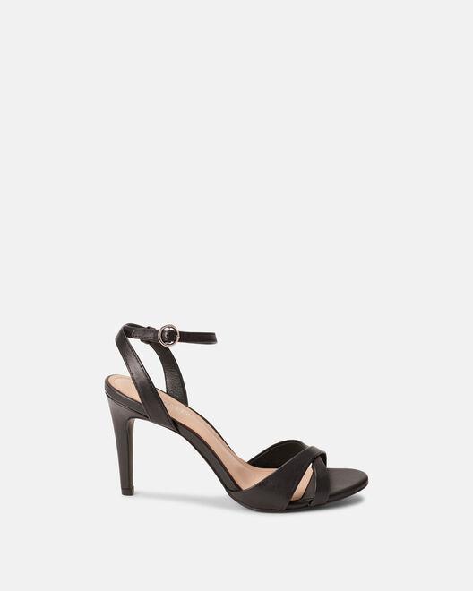 Sandale à talon - Coly, NOIR