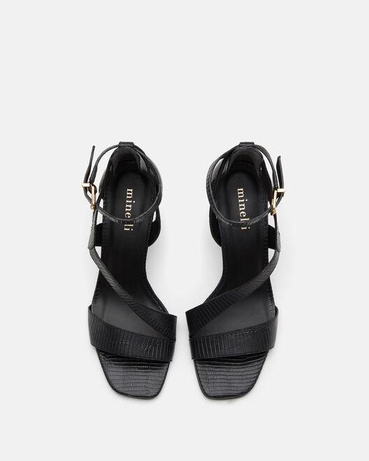 Sandale à talon - Thylanne, NOIR