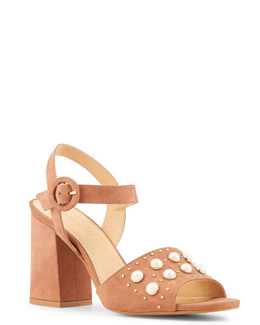 Sandale à talon - Benta, VIEUX ROSE