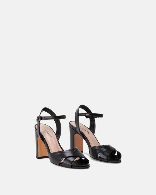 Sandale à talon - Clelia, NOIR