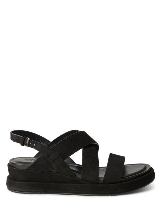 Sandale plate - Venke, NOIR