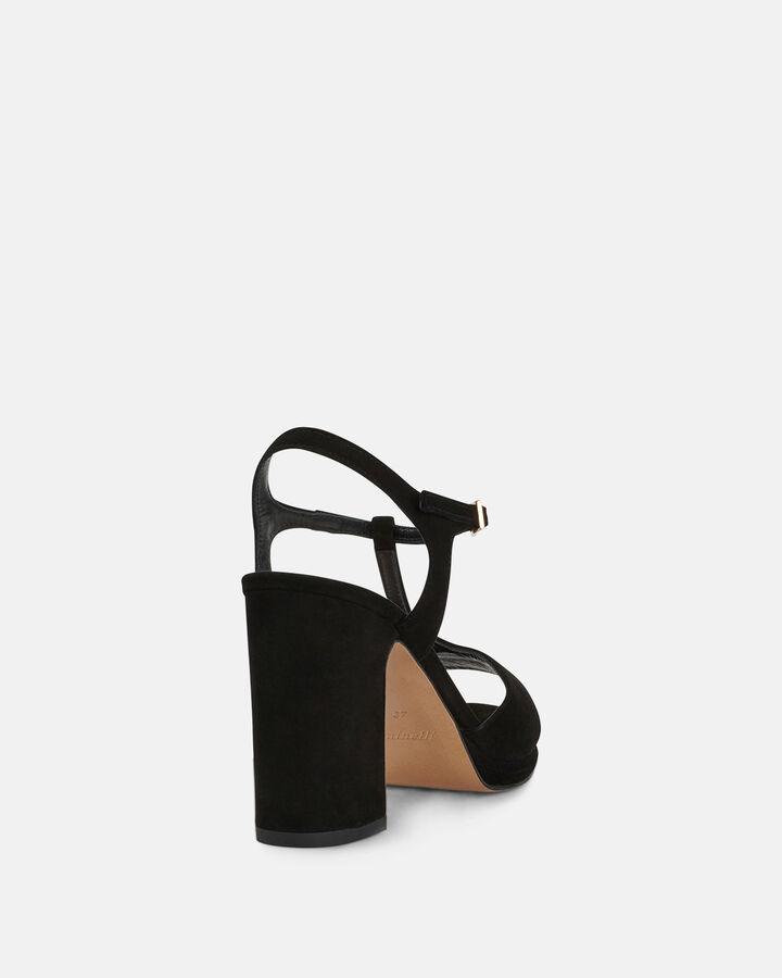 Sandale à talon - Bet, NOIR