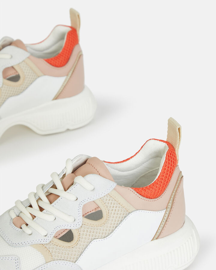 Basket - Doralyne, MULTICOLORE ROSE