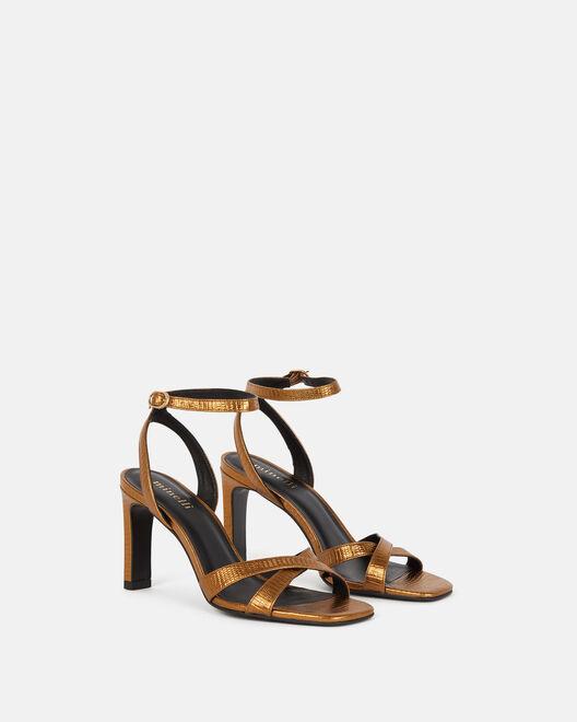 Sandale à talon - Thiphannie, BRONZE