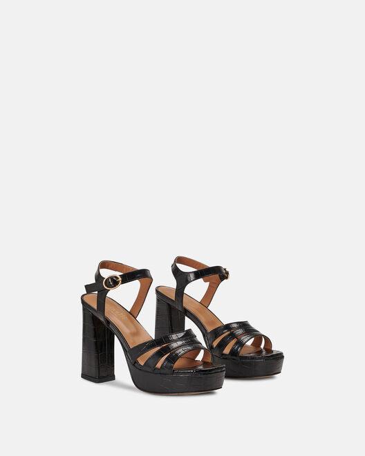 Sandale à talon - Ceslawa, NOIR