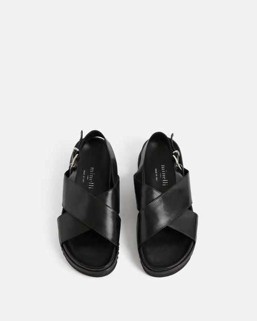 Sandale plate - Norane, NOIR