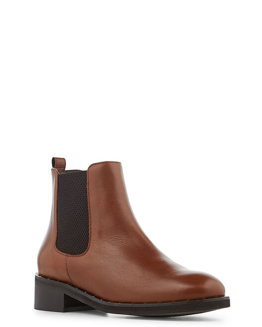 Boots - Davia, CUIR