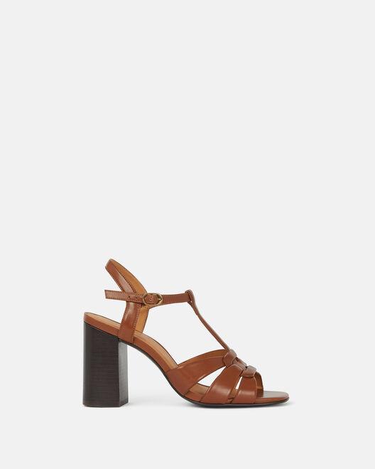 Sandale à talon - Carmeline, CUIR