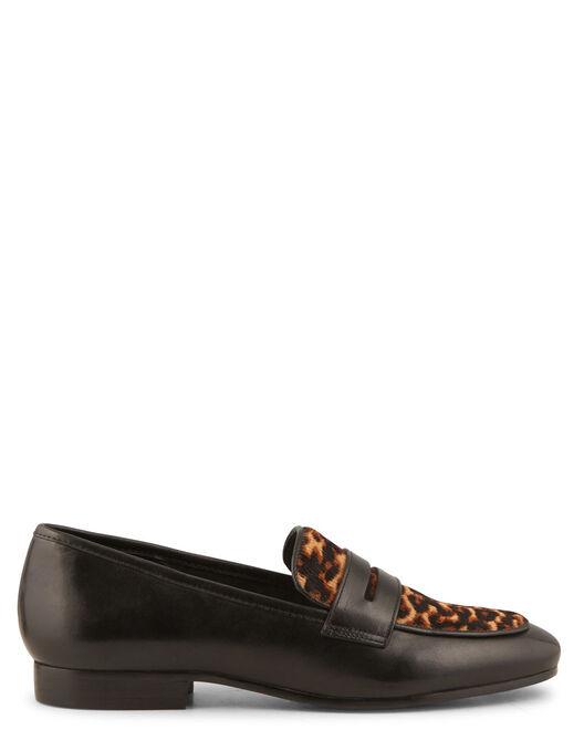 Mocassin Femme - Chaussure Mocassin cuir femme - Minelli 3f62695ef3e3