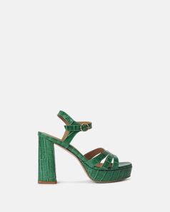 Sandale à talon - Ceslawa, VERT