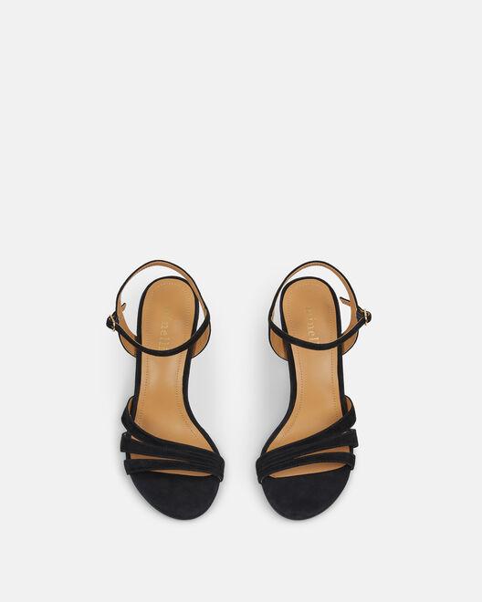 Sandale à talon - Cellyna, NOIR