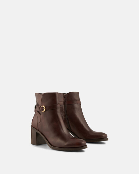 Boots - Priska, CHOCOLAT