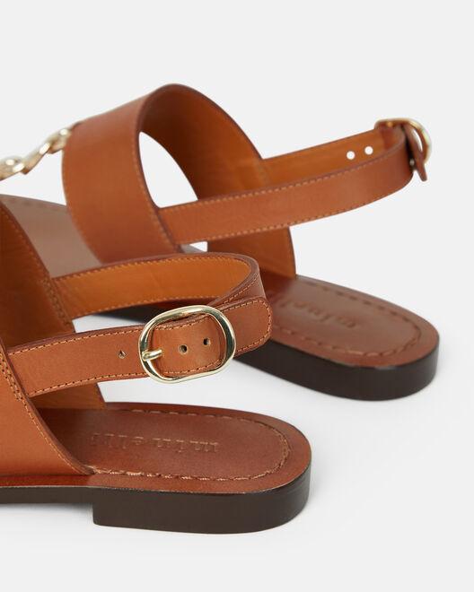 Sandale plate - Nelita, CUIR