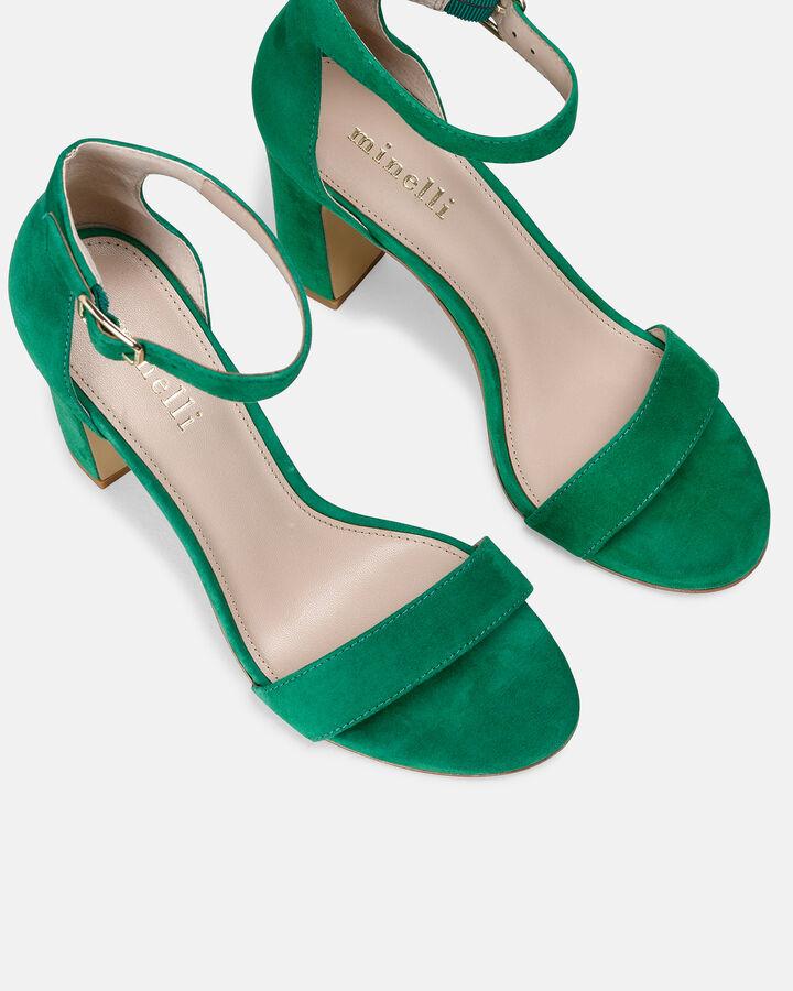 Sandale à talon - Beinta, VERT