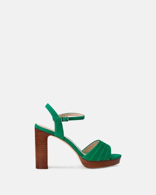 Sandale à talon - Cecyl, VERT