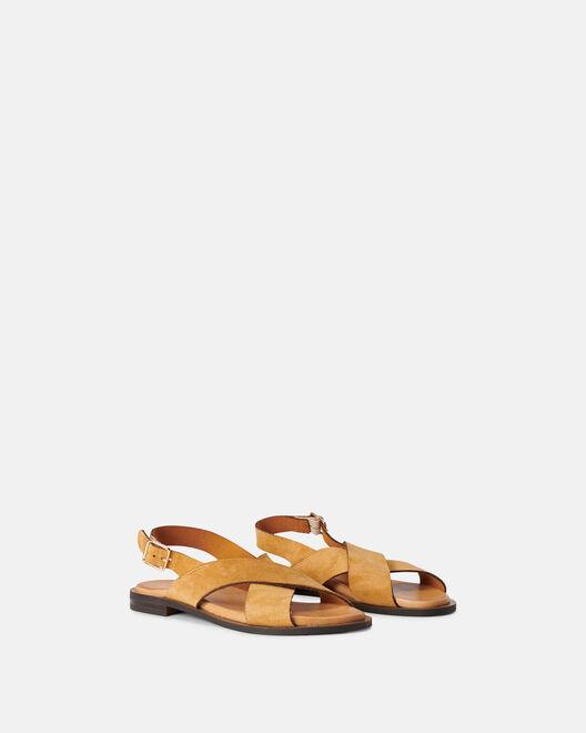 Sandale plate - Molny, CUIR