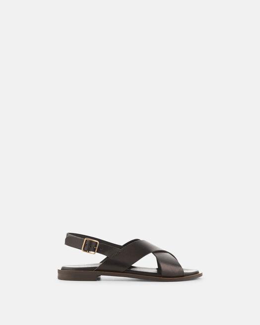 Sandale plate - Dona, NOIR