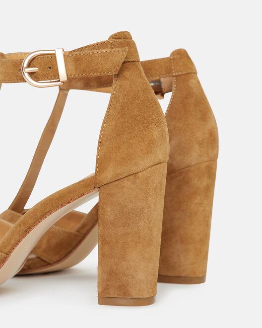 Sandale à talon - Thomacine, CUIR