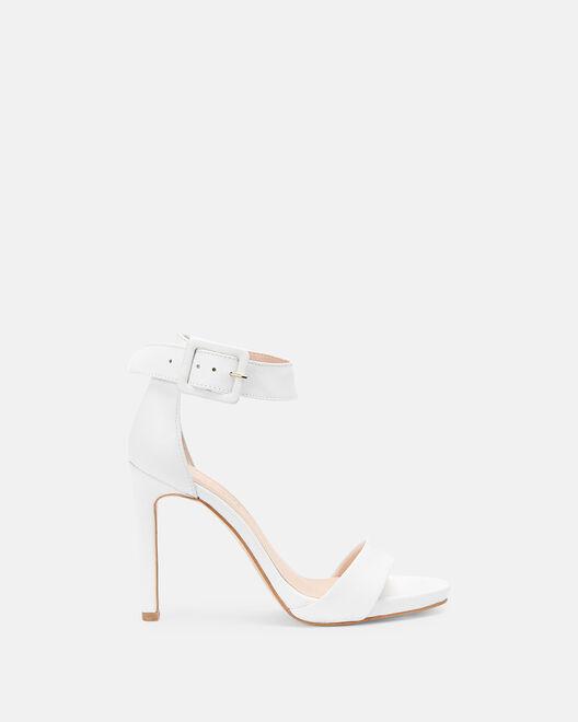 Sandale à talon - Joy, BLANC