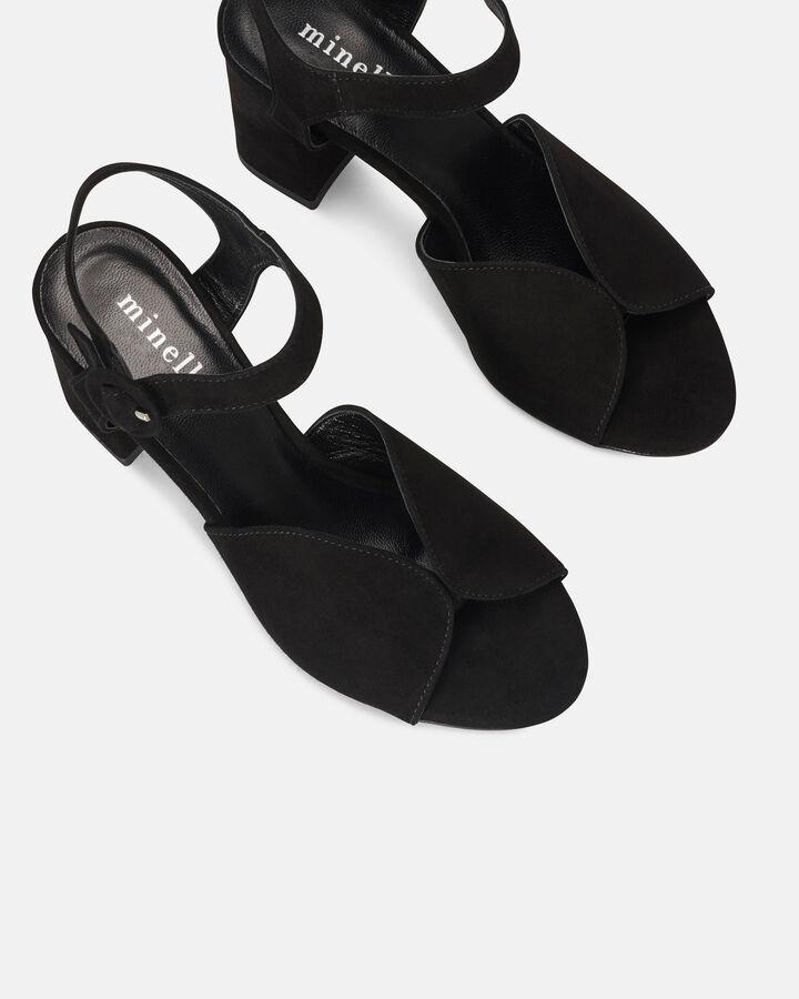 Sandale à talon - Ceesa, NOIR