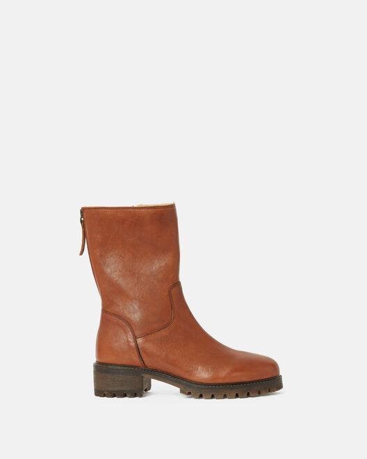 Boots - Bruneta, CUIR