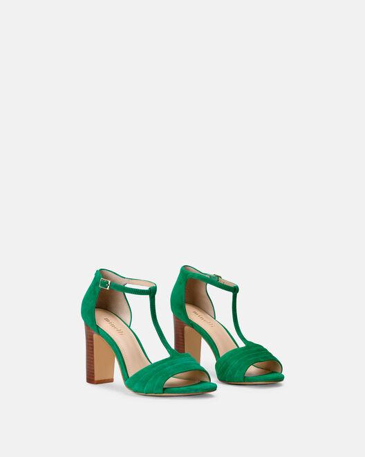 Sandale à talon - Chima, VERT