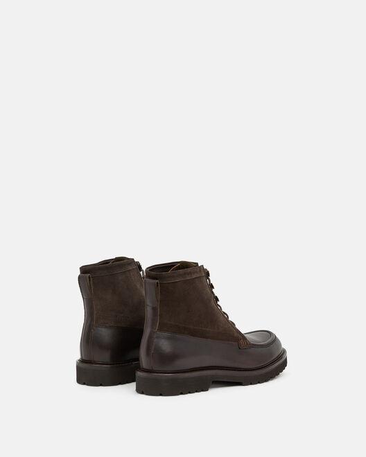 Boots - Sajad, MARRON