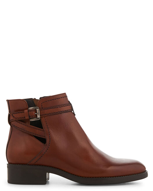 Boots - Debora, MARRON