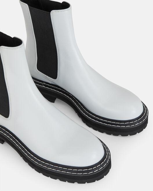 Boots - Stefie, BLANC