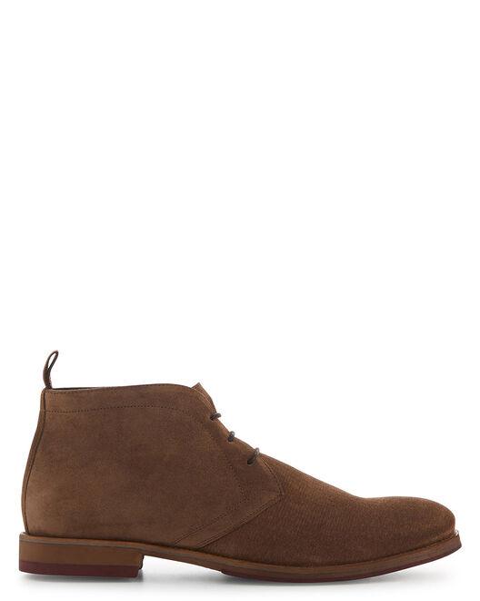 Boots - Laken, CAMEL