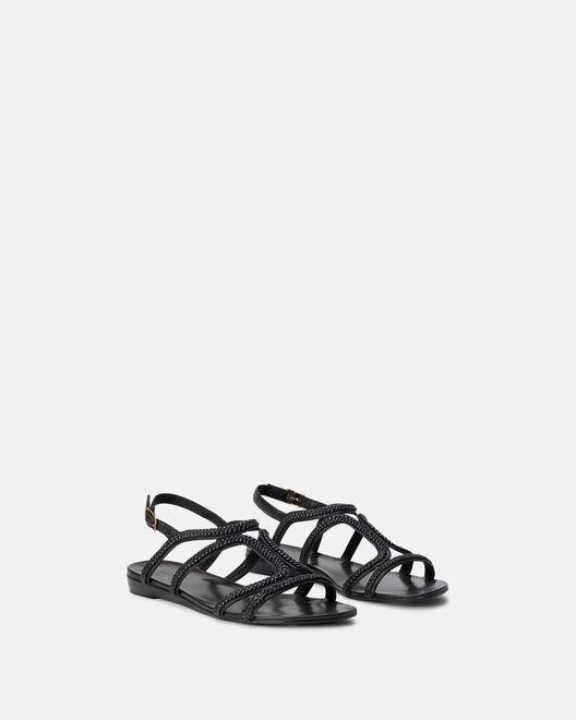 Sandale plate - Merrial, NOIR