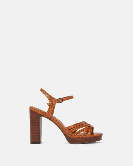 Sandale à talon - Citlaly, CUIR