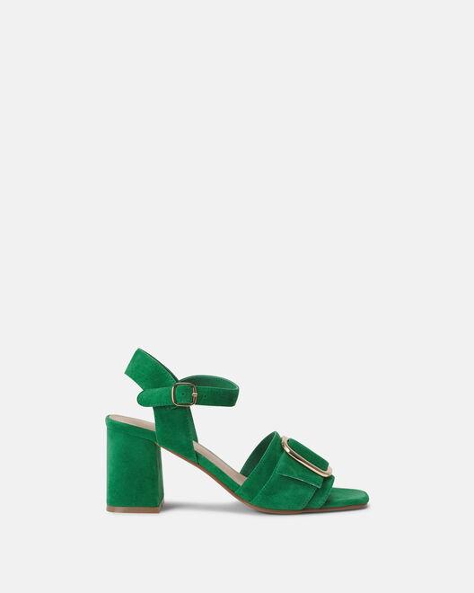Sandale à talon - Cesarine, VERT