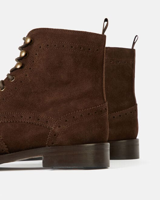 Boots - Ignace, MARRON