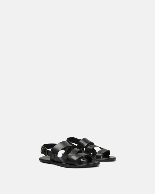 Sandale plate - Giani, NOIR