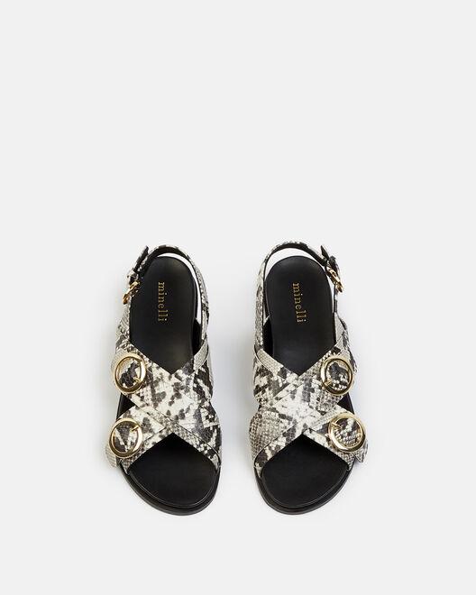 Sandale plate - Naddy, NATUREL