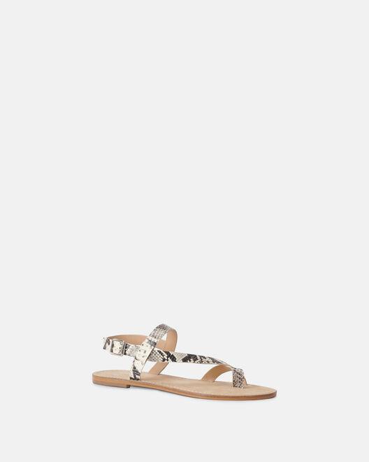Sandale plate - Meryna, NATUREL