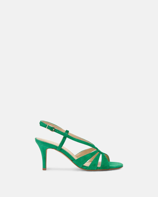 Sandale à talon - Camylle, VERT
