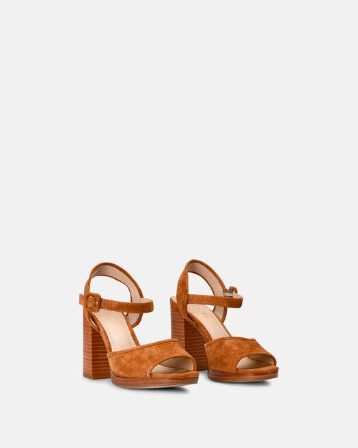 Sandale à talon - Cilem, CUIR
