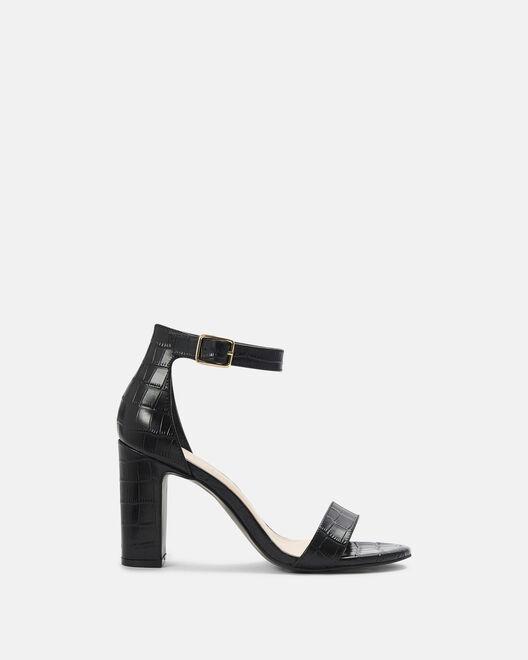 Sandale à talon - Cassy, NOIR