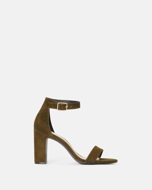 Sandale à talon - Beinta, KAKI