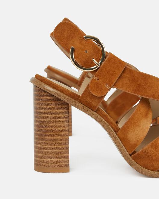 Sandale à talon - Clavia, CUIR