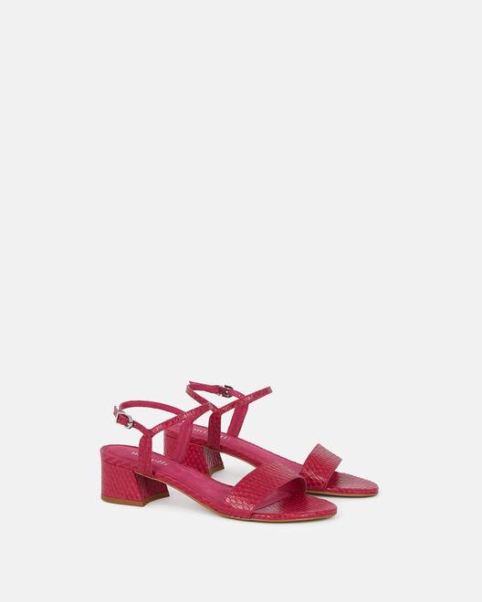 Sandale à talon - Nellah, FUCHSIA